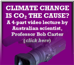 Climate Change is the cO2 Cause?