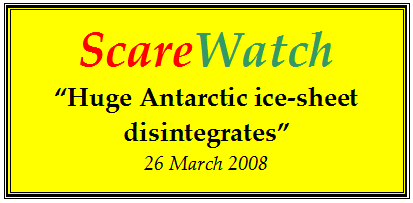 ScareWatch Ice Sheet