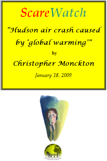 hudson crash global warming