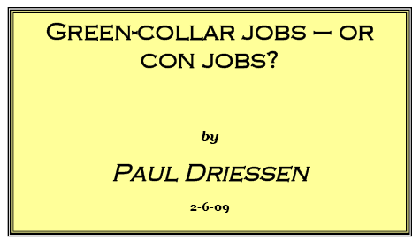 green collar or con jobs image