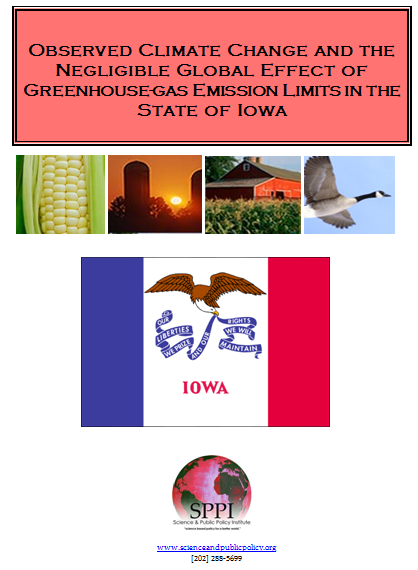 Iowa cliamte report header image