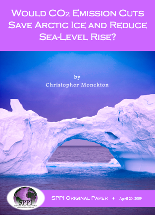 monckton artic sea level
