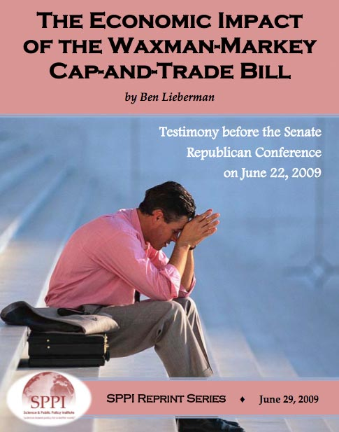 The Economic Impact of the Waxman-Markey Cap-and-Trade Bill