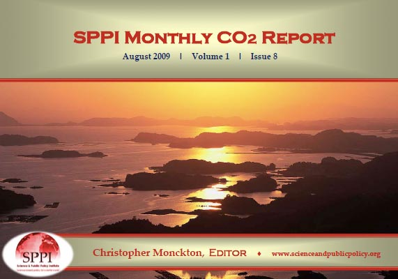 august 09 co2 report
